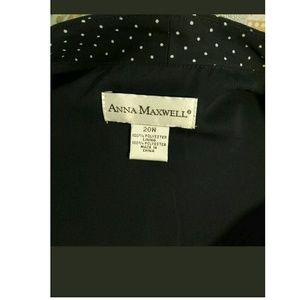 Anna Maxwell Tops - ANNA MAXWELL button down shirt 20W